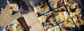 Squid Ink Pizza Dough Recipe