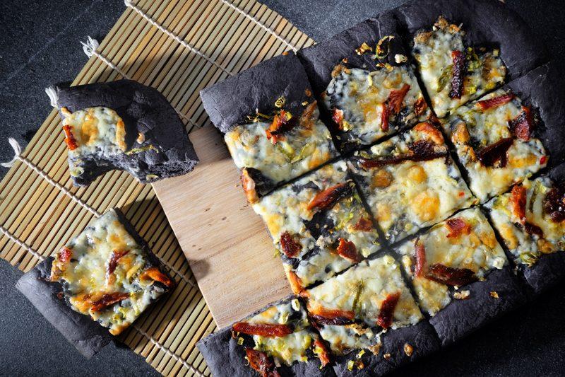 Squid Ink Pizza Dough Recipe