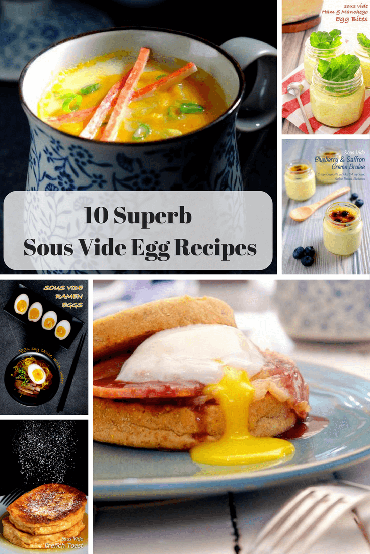 best sous vide egg recipes found at foodfornet.com