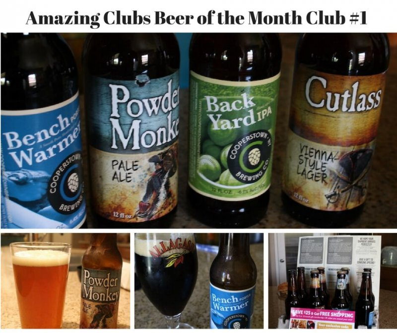 Amazing clubs Beer of The Month Club first shipment