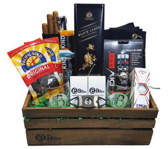 Golfers-Delight-Golf-Gift-Basket