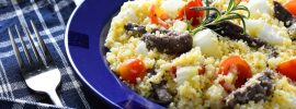 Mediterranean Lamb and Couscous Salad