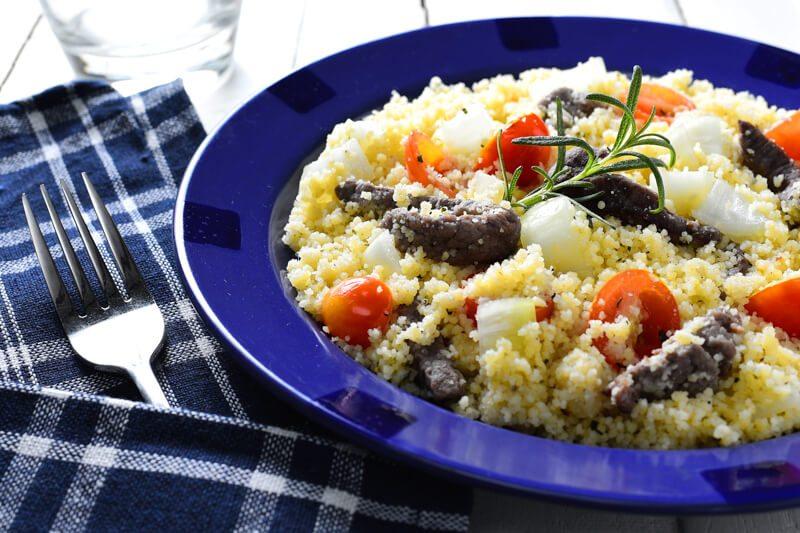 Mediterranean Lamb and Couscous Salad Recipe