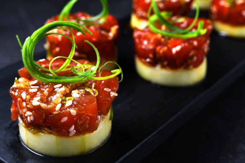 Oriental Tuna Tartare Recipe