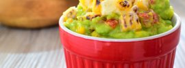 Roasted Corn Guacamole