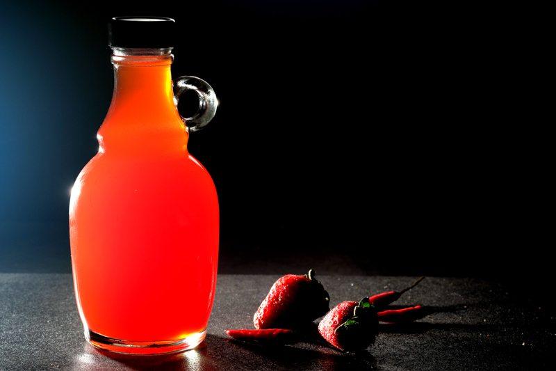 Sous Vide Strawberry-Chili Vinegar Recipe