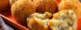 Spicy Sardine Potato Balls