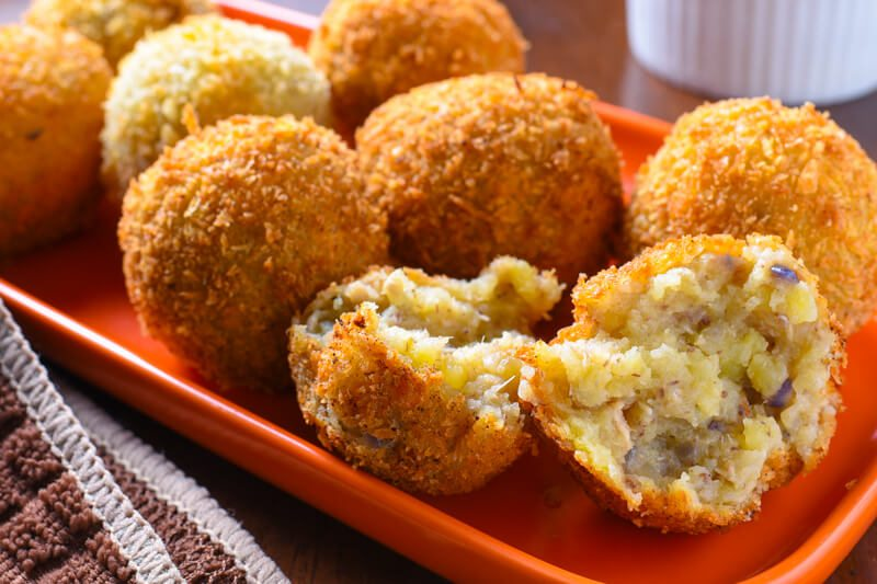 Spicy Sardine Potato Balls Recipe