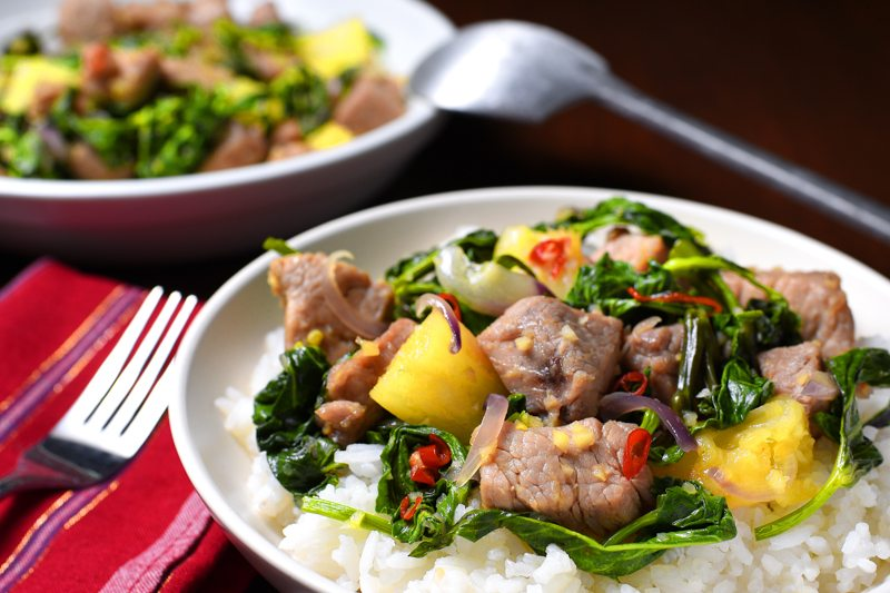 Thai Pork with Basil Recipe