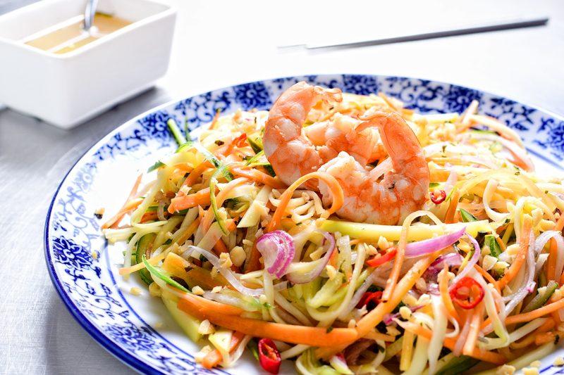 Vietnamese Green Mango Salad