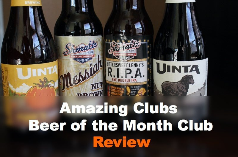 AmazingClubs.com Beer of the Month Club Review
