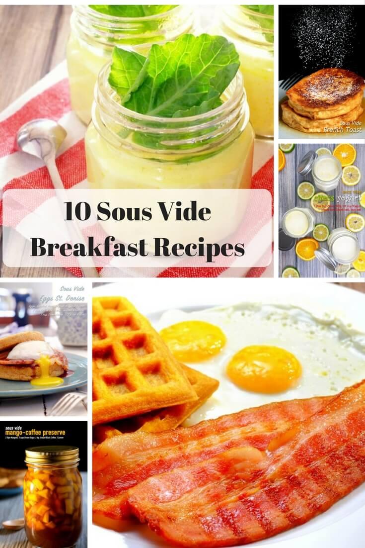 10 Sous Vide Breakfast Recipes