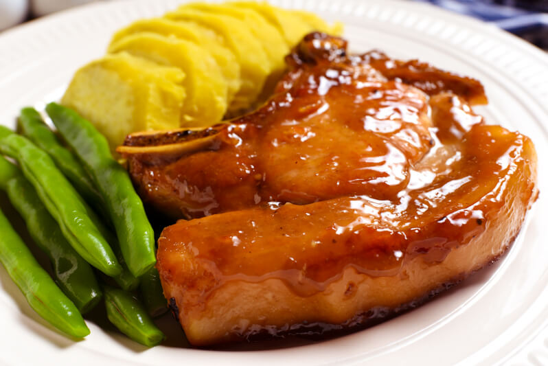 Citrus-Balsamic Pork Chops