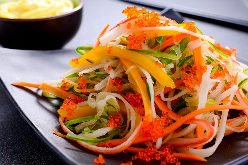 Japanese Kani Salad