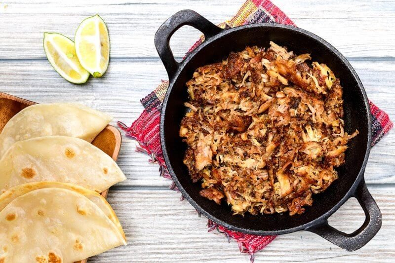 Slow Cooker Mexican Pork Carnitas