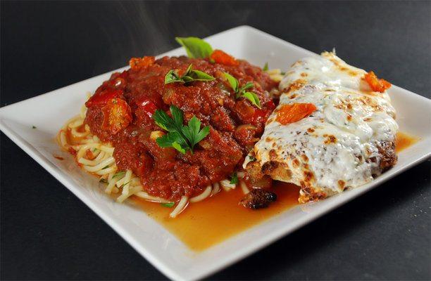 Sous Vide Chicken Parmigiana