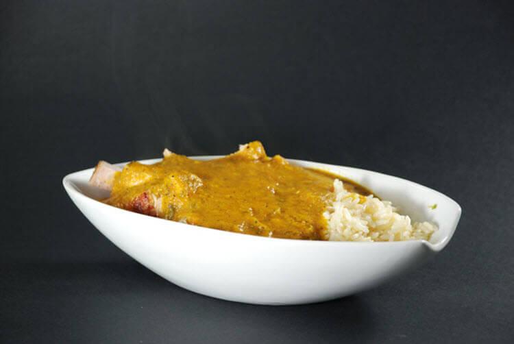 Sous Vide Lamb Curry