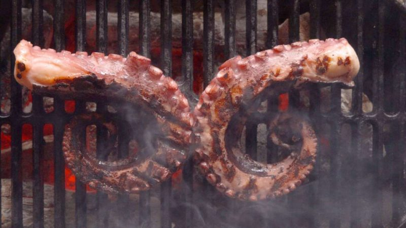 Tender and Silky Sous Vide Octopus