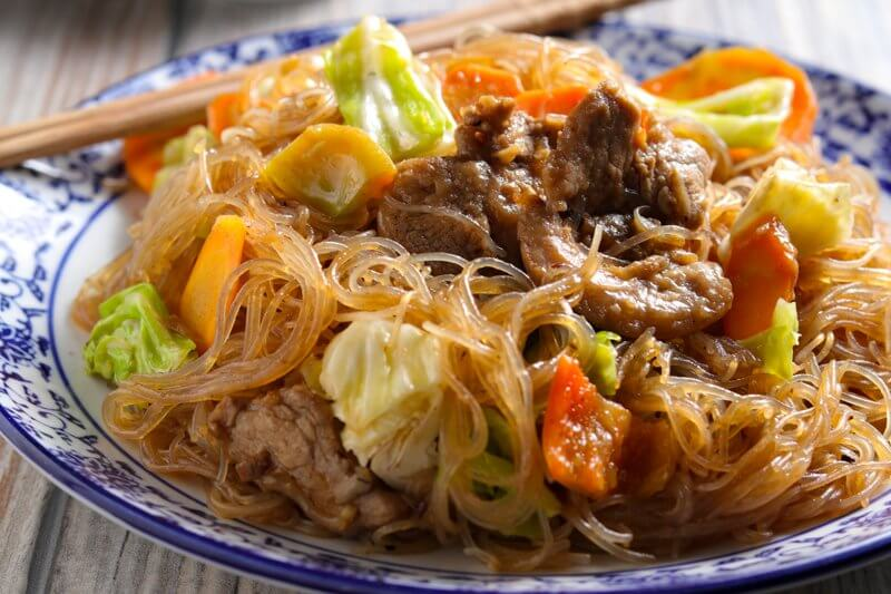 Asian Vermicelli Stir-Fry