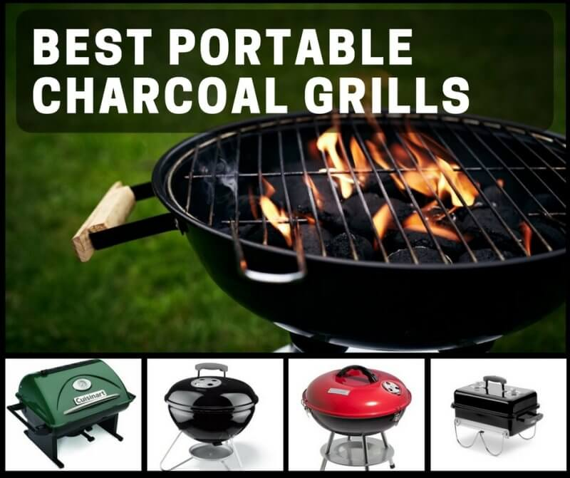Best Portable Charcoal Grills For The Beach, Camping, Or Tailgating
