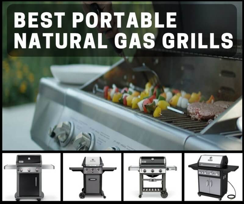 Best Portable Natural Gas Grills For Your Backyard Summer Grill Parties