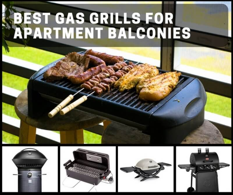 Best Gas Grills for Apartment Balconies