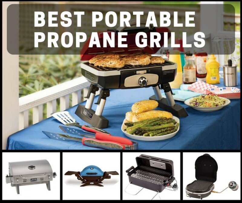 Best Portable Propane Grills For Fast, Versatile Cooking Away From Home