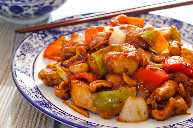 Kung Pao Chicken Chinese Food