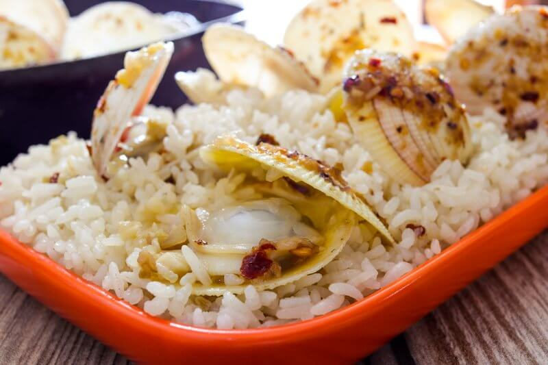 Lemongrass-Clam Rice