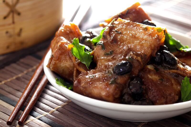 Steamed Ginger & Blackbean Pork