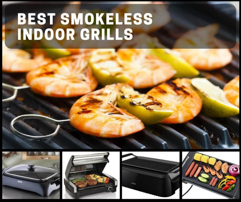 Best Smokeless Indoor Grills For All-Season Anywhere Grilling