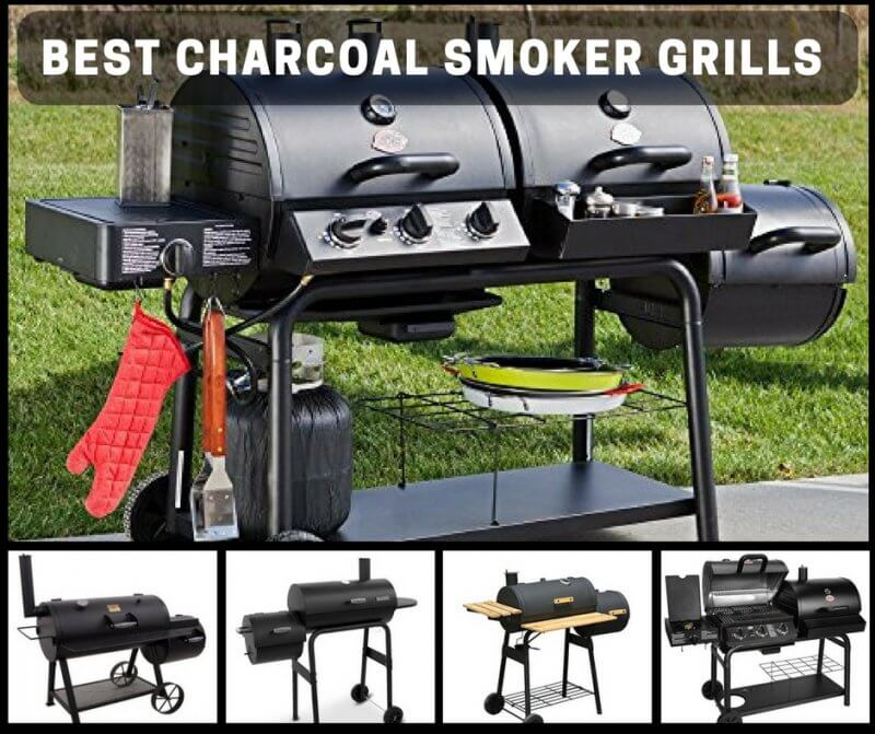 Best Charcoal Smoker Grill Combos For Full Flavor, Versatile Cooking