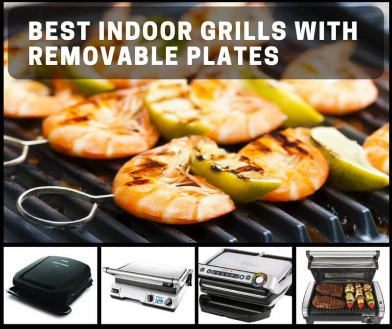 Best Indoor Grills with Removable Plates: Easy Clean, Multiple Cooking Methods
