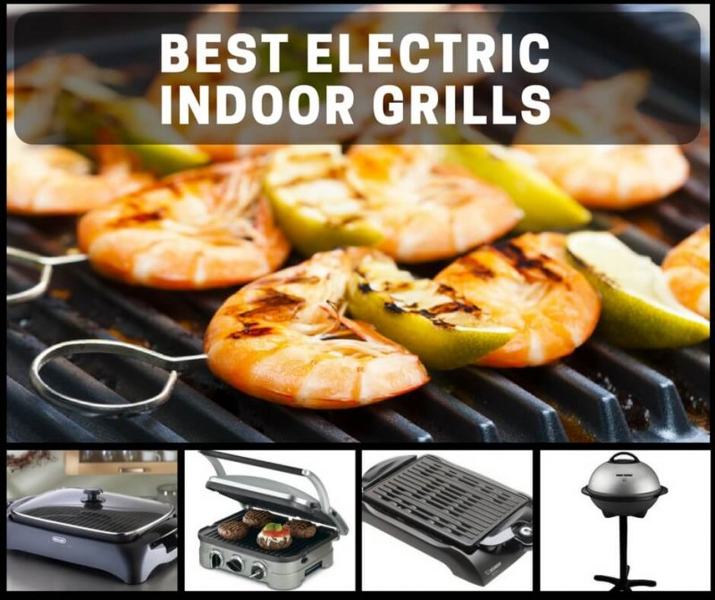 Best Electric Indoor Grills For Safe, All-Weather Grilling In Your ...