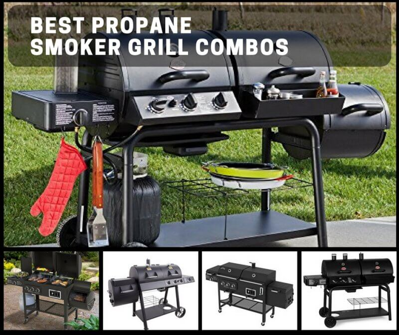 Best Propane Smoker Grill Combos: Choose To Cook Gas Or Wood/Charcoal!