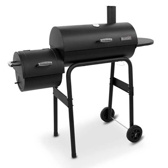 Char-Broil American Gourmet 300 Series Offset Charcoal Smoker and Grill