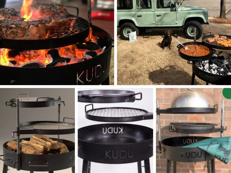 kudu grill made in the usa but south african inspired