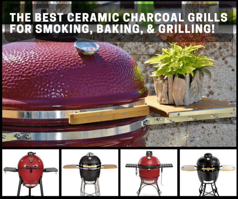 picture of the best ceramic charcoal grills