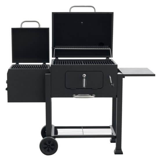 Landmann USA Vista Barbecue Charcoal Grill with Offset Smoker Box