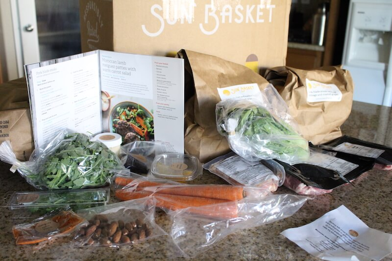 Sunbasket-full-picture-of-ingredients-and-moroccan-lamb-burgers