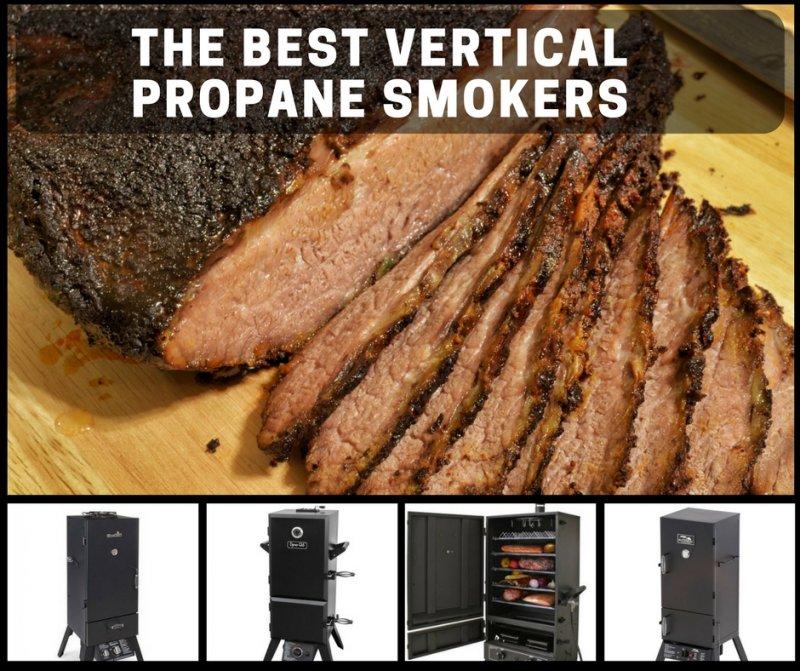 best vertical propane smokers