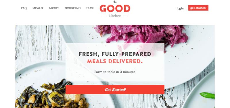 The Good Kitchen formerly modPALEO Website Screenshot