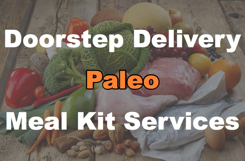 paleo meal kit sitting on kitchen counter