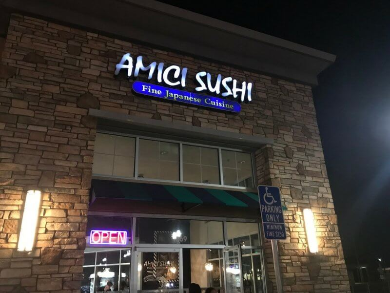 Amici Sushi Lathrop Review: Best Sashimi In San Joaquin County