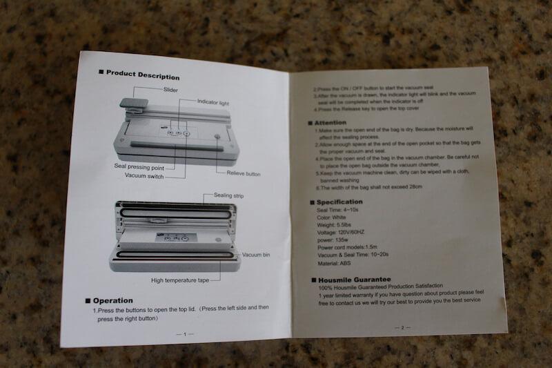 housmile-instruction-booklet