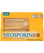 Neosporin® Multi-Action + Pain Itch Scar First Aid Antibiotic...