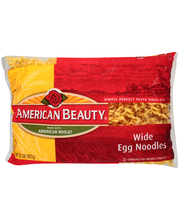 American Beauty® Wide Egg Noodles 32 oz. Bag.