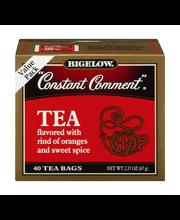 "Bigelow®""Constant Comment""® Black Tea Bags 40 ct Box"