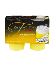 Temptations by Jell-O® Lemon Meringue Pie Snacks 4 ct Cups