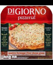 DIGIORNO PIZZERIA! Quatro Formaggi/Four Cheese Pizza 18.3 oz....